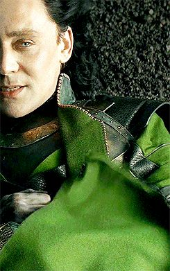 Tom Hiddleston is the only one who could play Loki so skillfully. Just look at this gif. The fury. The passion. The contempt. The tear. Whoooo!!