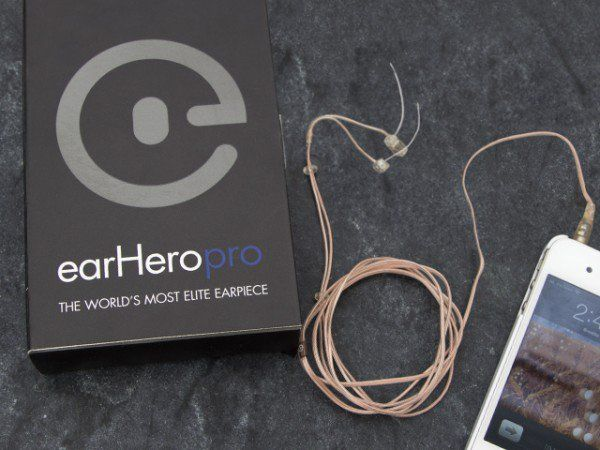 Most comfortable headphones from earHero discovered by The Grommet. Tiny, nearly invisible headphones that are designed to let you hear the environment while also listening to music.