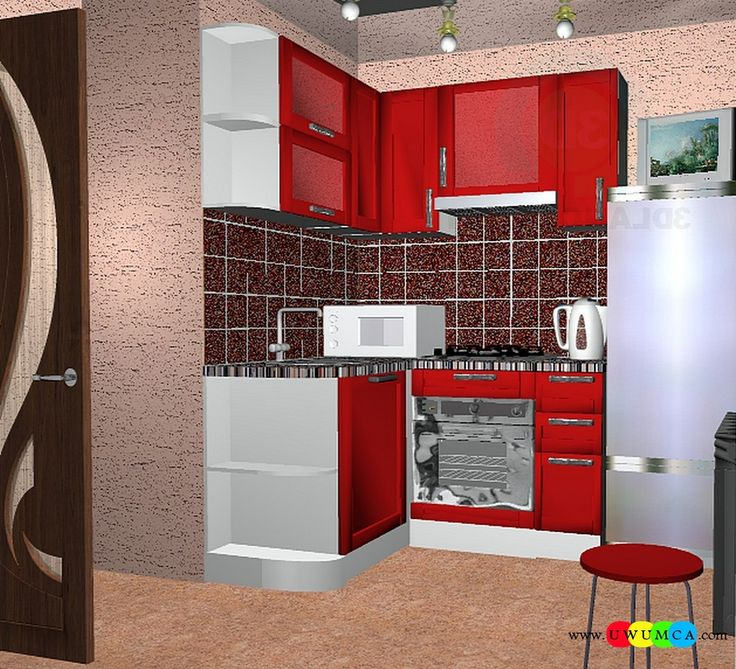Kitchen:Corona Kitchen Ad Decor Cabinets Furniture Table And Chairs Remodel Kitchens 3d Model Free Download Countertops Layout Worktops Island Design Ideas 3ds Kitchenette Sketchup (7) You Won't Believe How Cool Corona Kitchen's 3D Ad Looks and Other Kitchen 3D Model