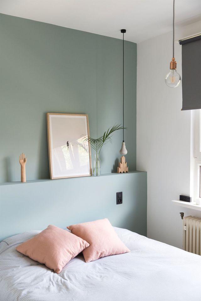 Chambre d\'amis : idées déco et aménagement | Vert chambre ...