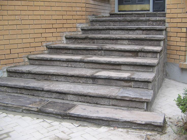 Image result for flagstone stairs