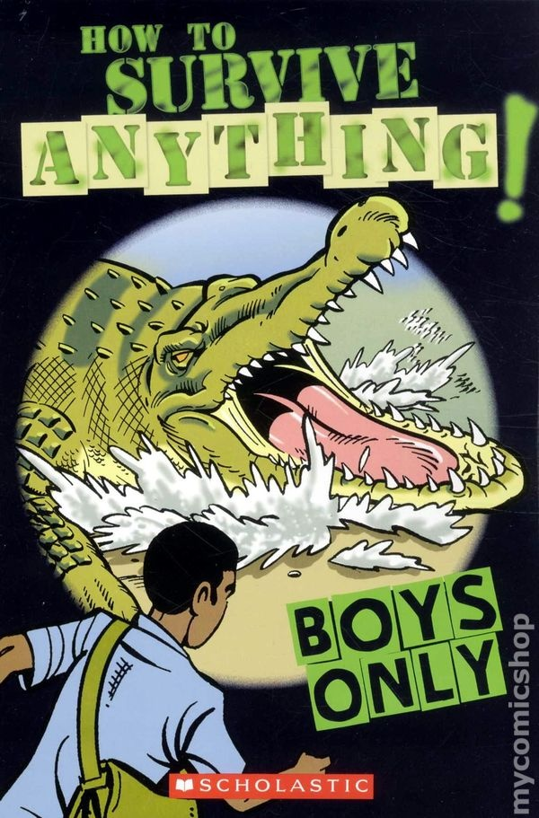 Boys Only!: Survival Tips, Girls Girly, Girls Generation, Boys Survival, Boys On, Bears Attack, Girls Tips, Zombies Inva, Ya Books