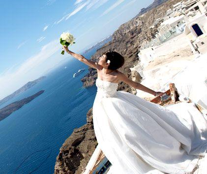 Wedding photography in Greece for destination weddings