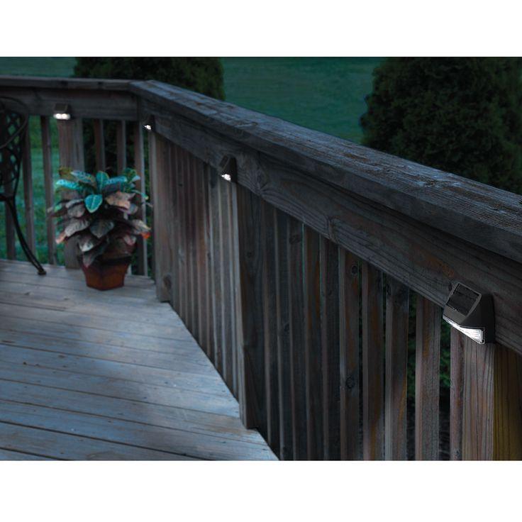 Stair Post Light: Best 25+ Deck Posts Ideas On Pinterest