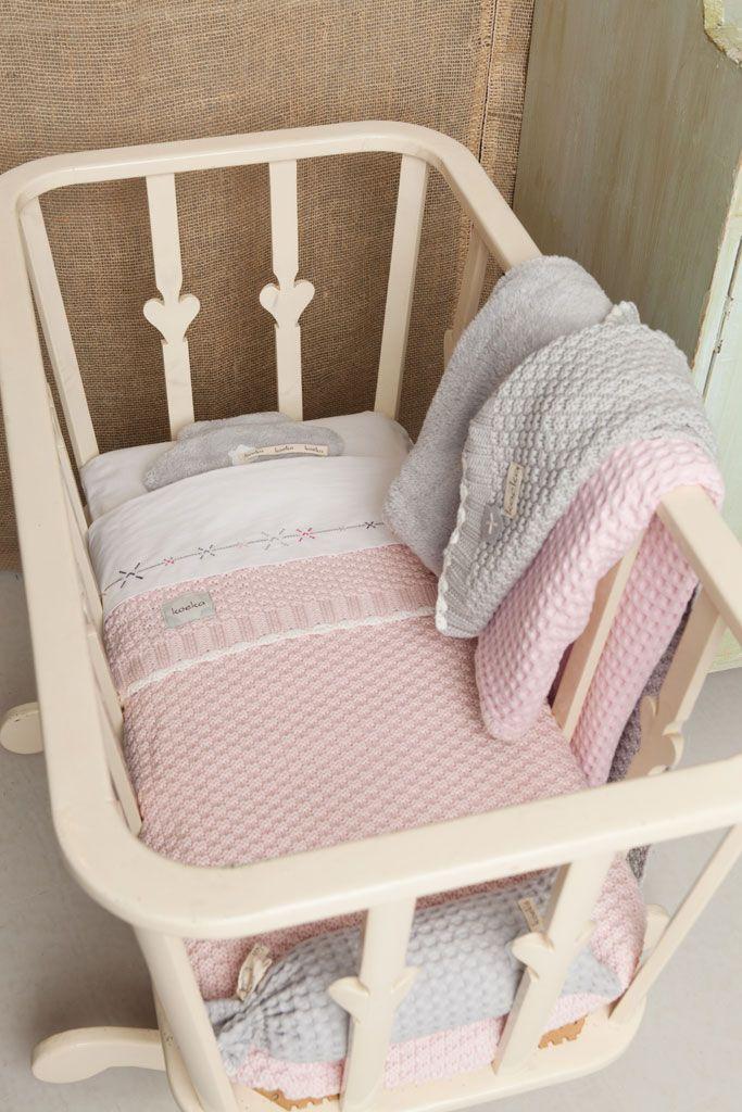 Valencia bassinet blanket | Koeka webshop