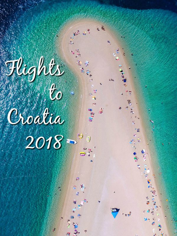 Full details of all confirmed flights to Croatia 2018 from the UK & Ireland, including flights to Zagreb, Split, Dubrovnik, Zadar and Pula.