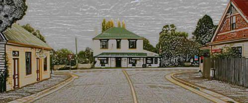 Evandale Tasmania:  Russell & High St