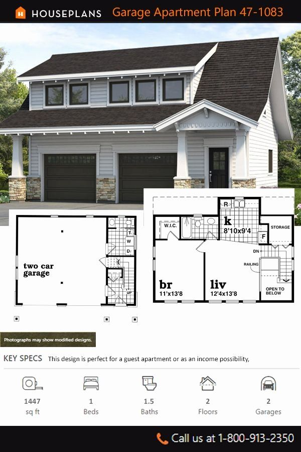 Carriage Style House Plans Luxury Bungalow Style House Plan 1 Beds 1 5 Baths 1447 Sq Ft P Bungalow Style House Plans Craftsman House Plans Carriage House Plans