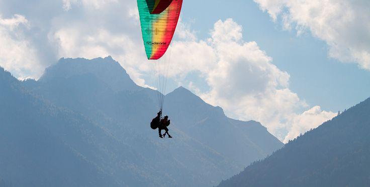 Gleitschirmfliegen Schnupperkurs Nonrod #Fallschirm #Geschenk #Heimat