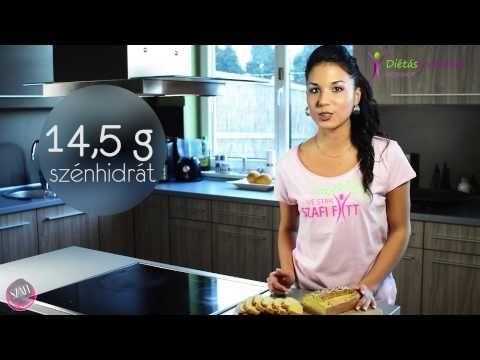 Paleo kenyér, zsemle, pogácsa és pizza recept (csökkentett kalória és szénhidrát) - YouTube