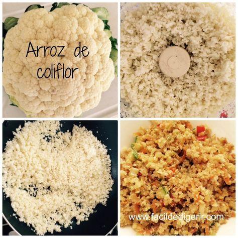 Arroz de coliflor con verduras (¡arroz si arroz!)