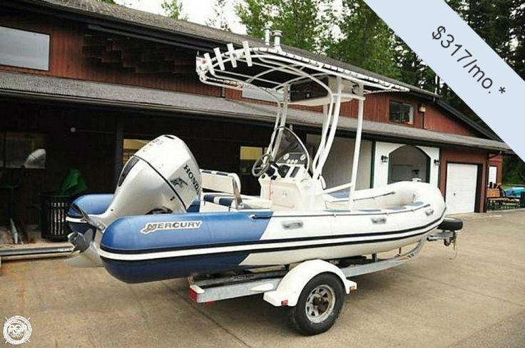 2008 Mercury V570 M-Series 18 RIB Maple Valley WA for Sale 98038 - iboats.com