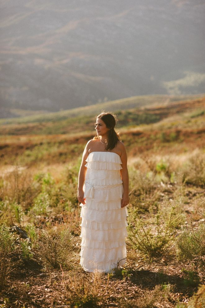 Joana rocking that dress at Serra da Arada, Portugal. Lovely girl, lovely light! More here: http://www.fotografamos.com/2013/11/20/joana-miguel-married-and-we-shot-another-you-me-session/