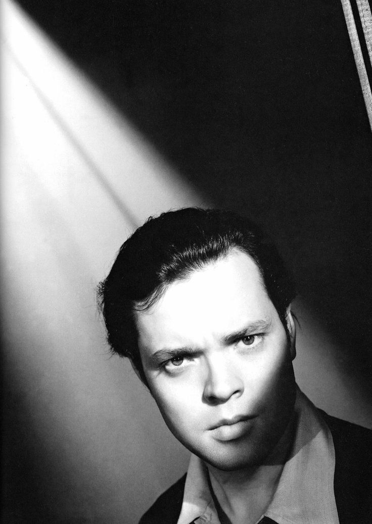 """Every actor in his heart believes everything bad that's printed about him.""-Orson Welles."