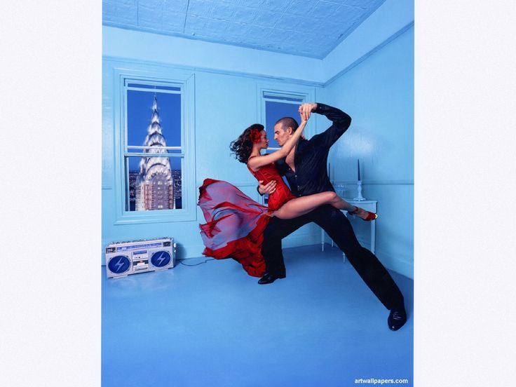 I love this one by David LaChapelle