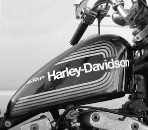 ★ AMF Harley Davidson GAS TANK DECALS STICKERS Sportster Dyna ★ Oakville / Halton Region Toronto (GTA) image 2