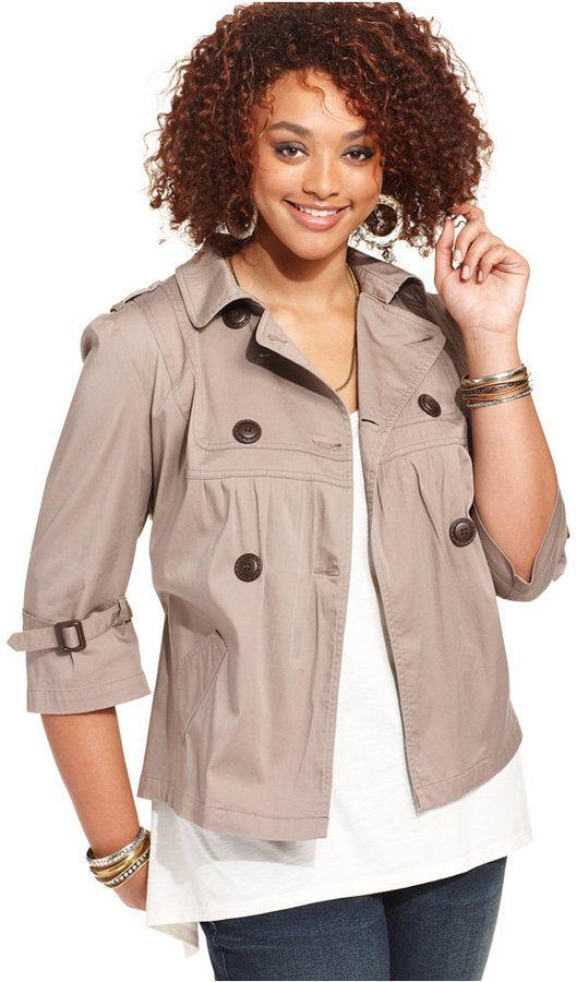 25+ best ideas about Plus Size Military Jacket on Pinterest ...