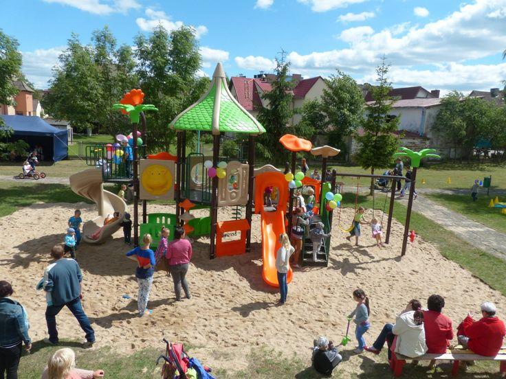 Budowa placu zabaw - Okonek Dr Spil Polska tylko certyfikowane place zabaw  http://spil.pl/okonek-certyfikowane-place-zabaw/