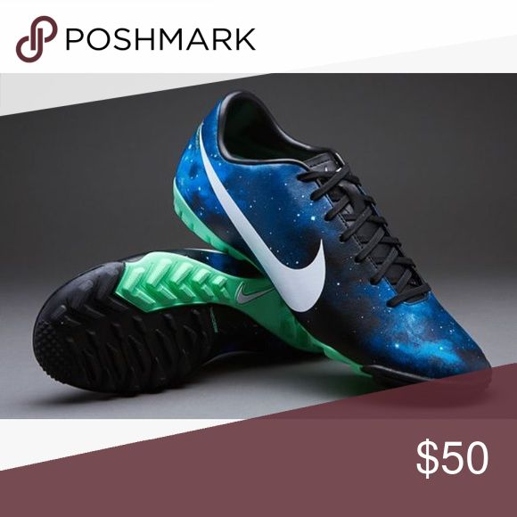 Cristiano Ronaldo Turf Cleats Only used twice! Still good as nee. No Damage ! ⚽️🖤⚽️ Nike Shoes Athletic Shoes