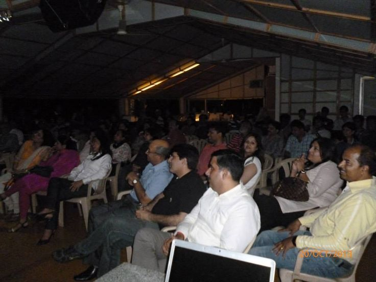 The wonderful audience enjoying the show 20/10/2013
