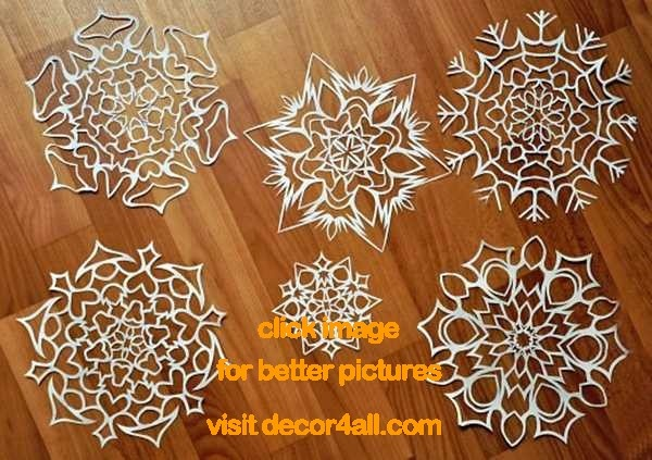 Christmas Crafts, 12 Gorgeous Paper Snowflake Designs