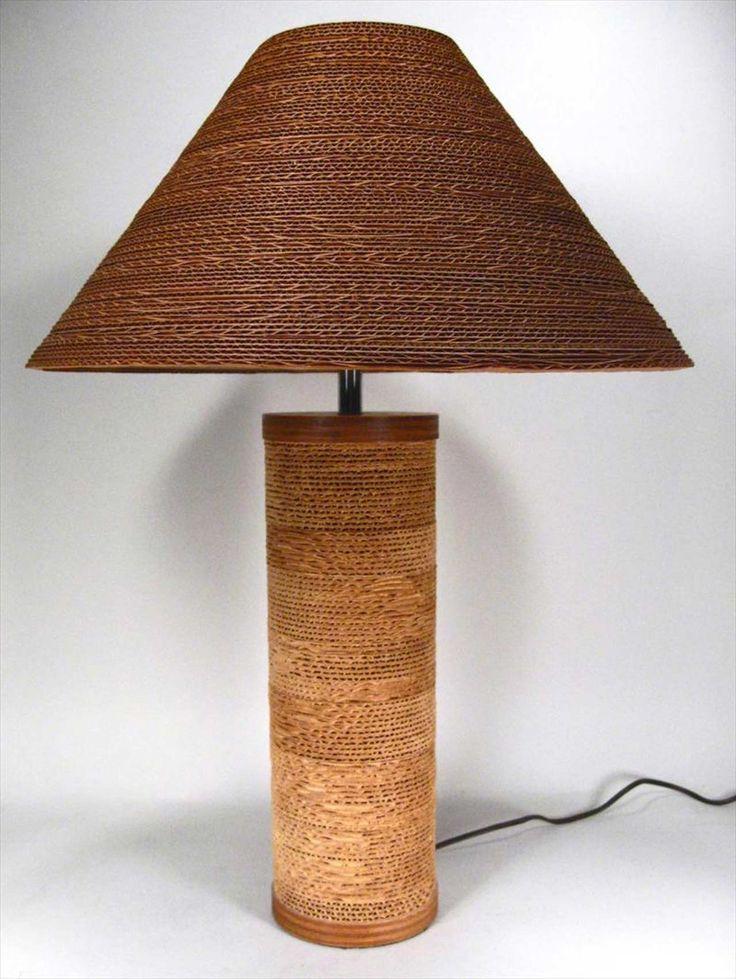 Nigh Lighting Furniture Cardboard ~ http://www.lookmyhomes.com/wonderful-frank-gehry-furniture-cardboard/