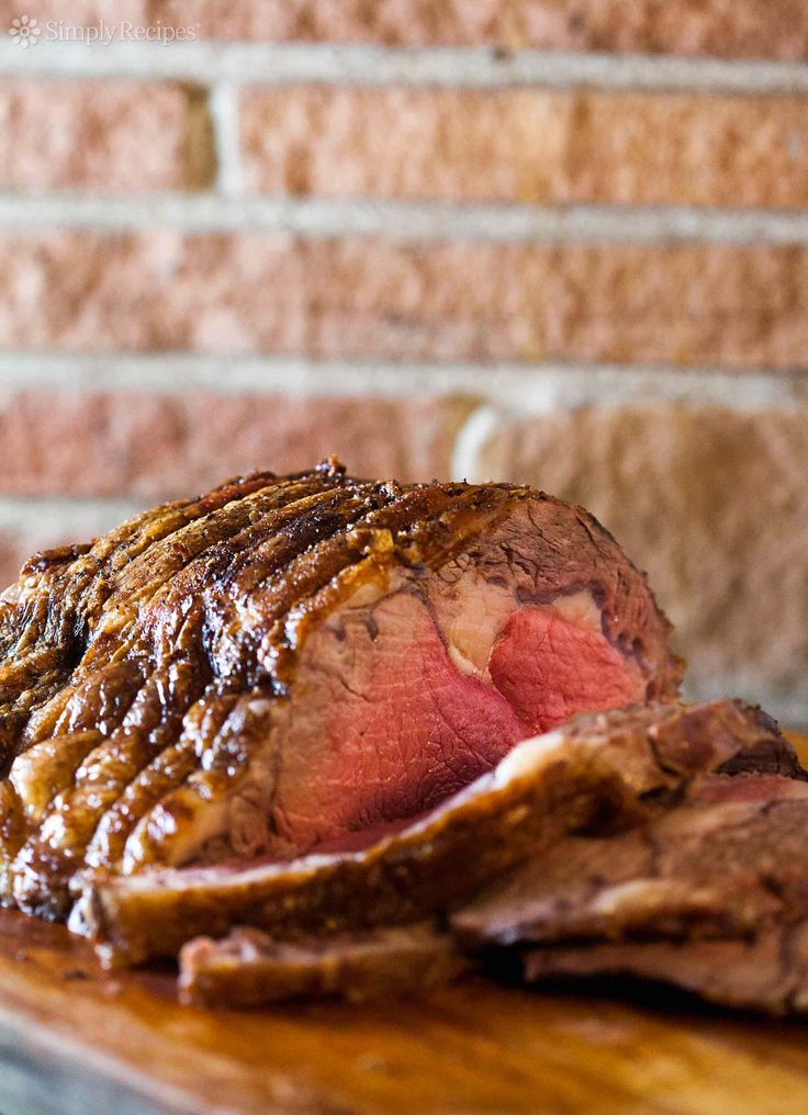 Prime rib recipe, how to cook to perfection a standing rib beef roast, step-by-step instructions and photos. Perfect for Christmas and the holiday season!