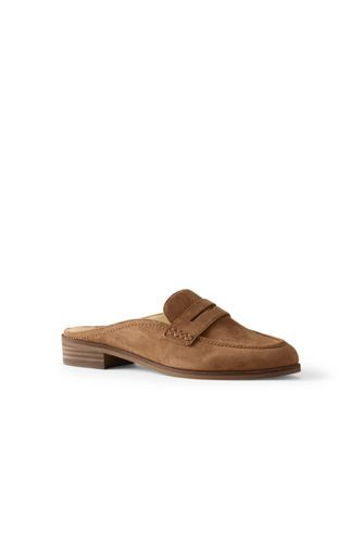 7cc6056b608 Women s+Penny+Loafer+Mules+from+Lands +End