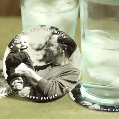 Custom coasters just for Dad from www.evermine.com: Custom Coasters, Father'S Day