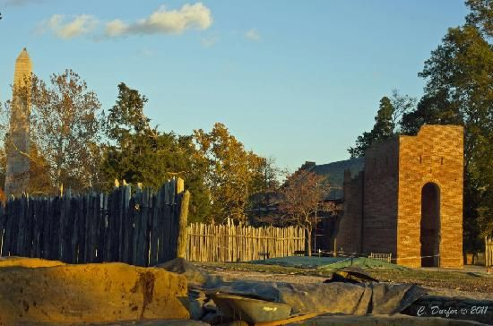 Historic Jamestowne Virginia is the original site of the first permanent English settlement in America!  Ongoing archeology digs are in process at the site of James Fort.