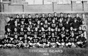 1941 ~ Chicago Bears (vs. New York Giants) ~ http://en.wikipedia.org/wiki/1941_NFL_Championship_Game