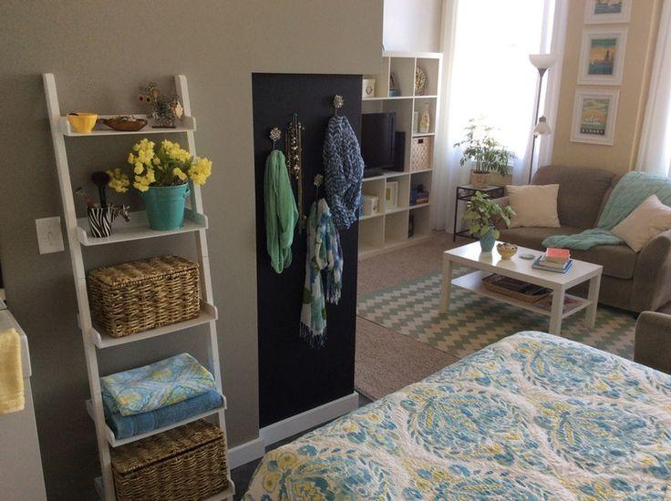 Kleines Schlafzimmer, Schreibtische, Leben, Studio Apartments, Wohnung  Design, Wohnung Leben, Wohnung Therapie, Zimmer Ideen, Freiflächen