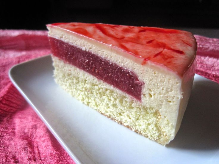 Torta Perla Rubino - Pearl Ruby Cake