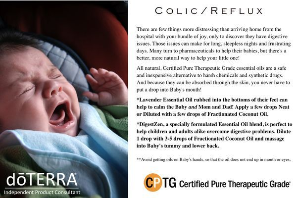 Doterra And Colic Reflux In Babies Baby Pinterest