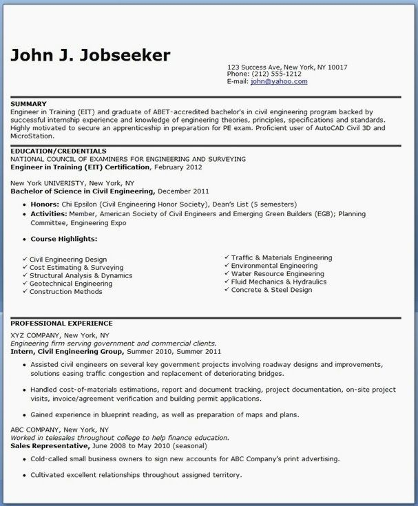 A Resume Title Examples 1-Resume Examples Engineering resume