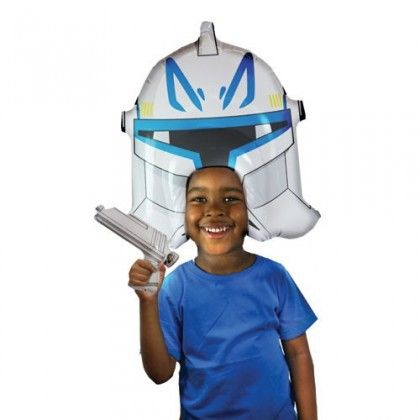 Perruque Gonflable Star Wars Clone Trooper