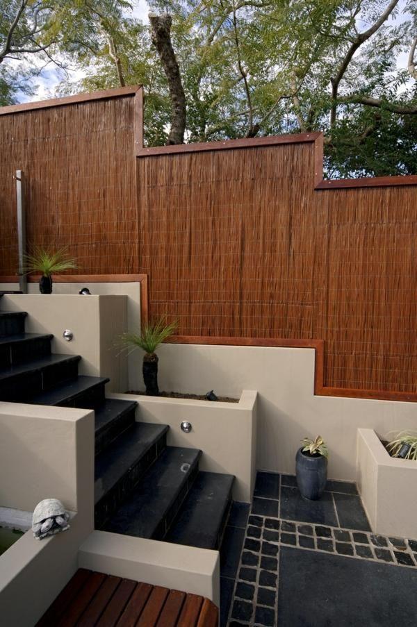 Garten Baumbus Treppe moderne Gestaltung