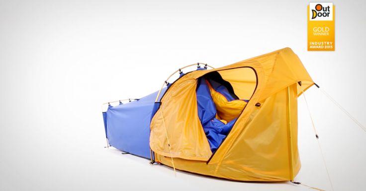 Una bolsa de dormir ¡que además es una carpa! | Notas | La Bioguía