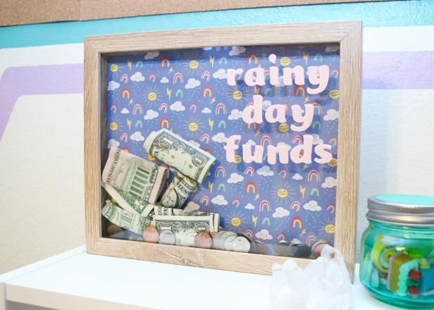 How To Make A Piggy Bank From A Shadow Box Frame Money Box Diy