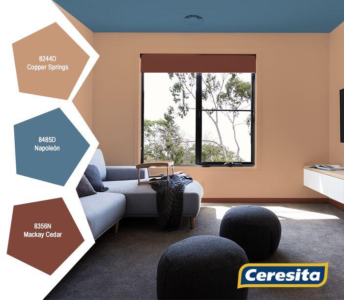 #CeresitaCL #PinturasCeresita #Color #Living #Mundo #Creatividad #Pintura #Tendencia #Estilo #Decoración #Arquitectura #Inspiración *Códigos de color sólo para uso referencial. Los colores podrían lucir diferentes, según calibrado de su monitor.