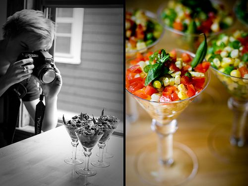 Great tips on food photography that apply to other areas as well.