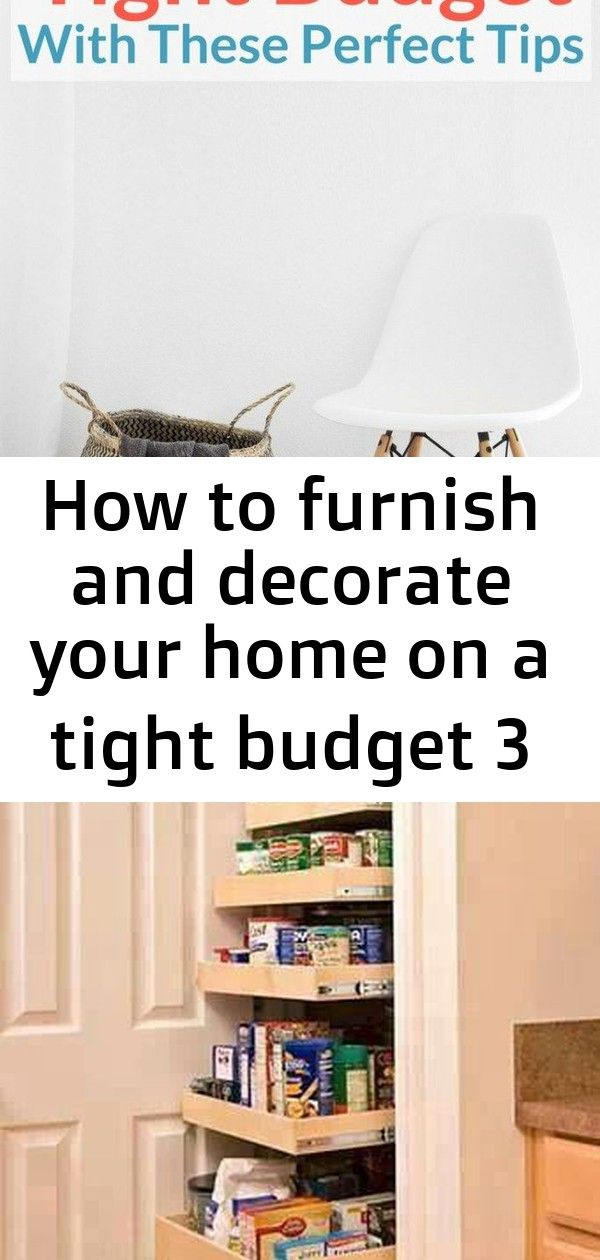 How To Furnish And Decorate Your Home On A Tight Budget 3 Decorating Your Home Furnishings Decor