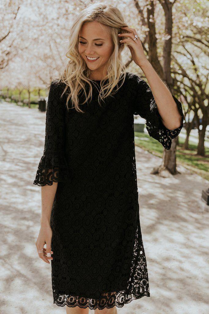 Black Lace Dresses Little Black Dress Summer Roolee In 2020 Fall Wedding Guest Dress Fall Wedding Attire October Wedding Guest Dress
