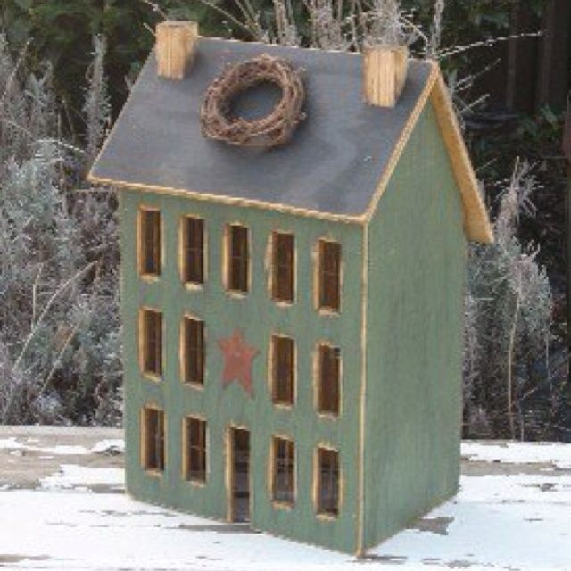 17 best images about salt box houses birdhouses barns on for Country craft house