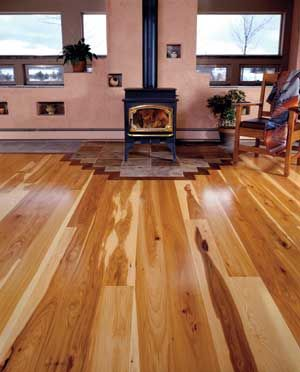 character hickory flooring