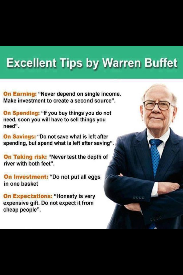 Financial planning from Warren Buffet! #financialsense #financialplanning #warrenbuffet