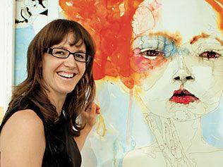 Del Kathryn Barton...most amazing Artist!