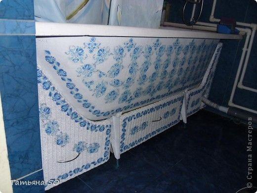 Уникальная переделка ванны своими руками.