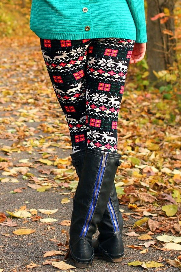 27 best 2013 New Stylish Christmas Leggings images on Pinterest ...
