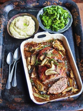 Meatloaf - from Friday Night Feast Programme on Channel 4, yumm
